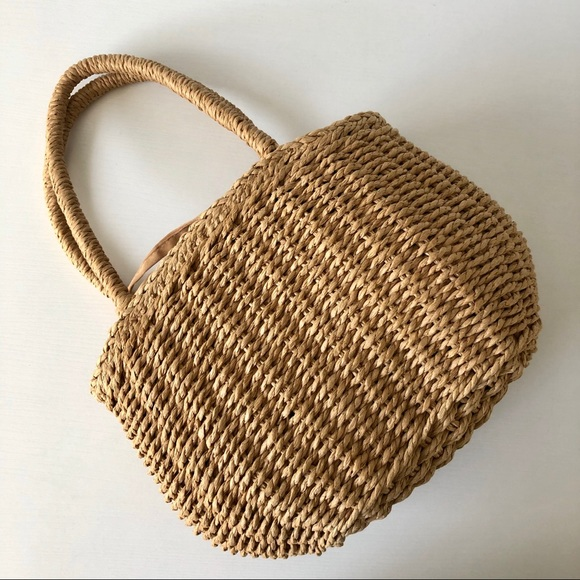 Unlisted Handbags - NWT Straw Handbag
